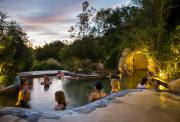 墨尔本莫宁顿半岛温泉(含门票)一日游(露天山景温泉+迷宫花园+海滨彩虹小屋)