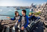 悉尼海港大桥攀爬 超值独特体验 含中文/英文教练 可选黎明/黄昏/夜间攀爬 讲解海港大桥历史 最佳观景视角 Sydney Harbour Bridge Climb